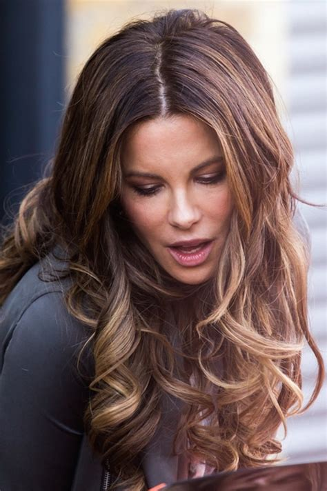 kate beckinsale hair color dallas best balayage ombre ombreage highlights hair color