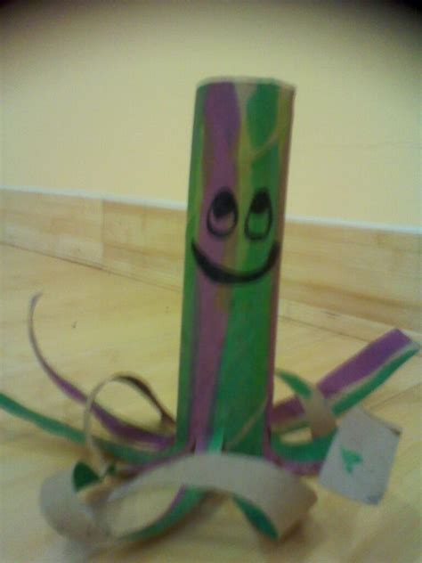 Crafts With Paper Towel - paper towel roll octopus craft