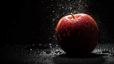4k Wallpaper by Wallpaper Apple Droplets Background 4k Lifestyle