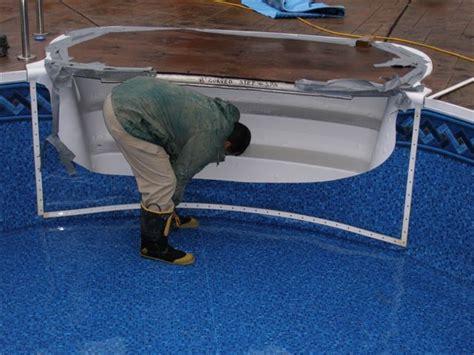Bathtub Wall Liners Vinyl Liner Pool Renovation Colley S