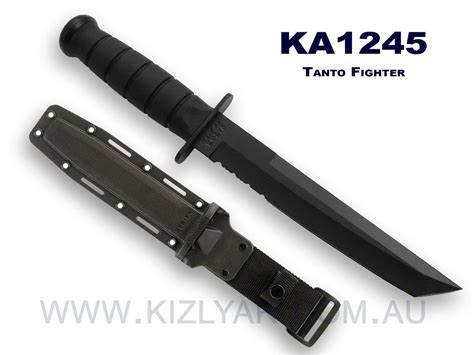kabar fighter ka bar 1245 tanto fighter 145 00 kizlyar knives