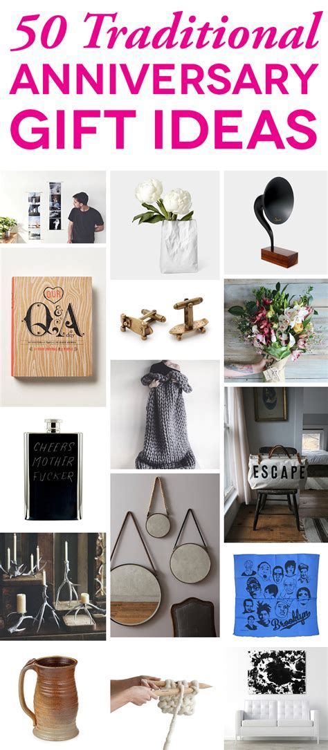 Traditional Anniversary Gifts Ideas Guaranteed To Delight