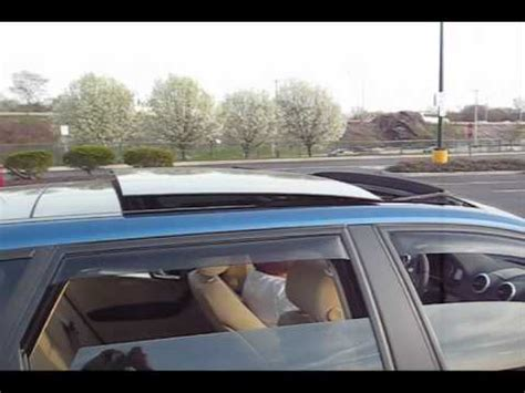 audi a3 tdi panoramic sunroof function and demonstration youtube
