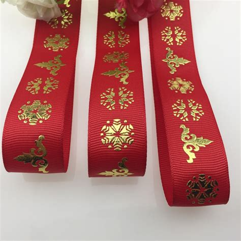 printed grosgrain ribbon wholesale christmas ribbon for