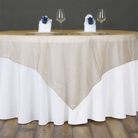 wedding table overlays 12 pcs sheer organza 60x60 quot square table overlays toppers