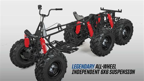polaris atv polaris introduces sportsman 6x6 big 570 eps