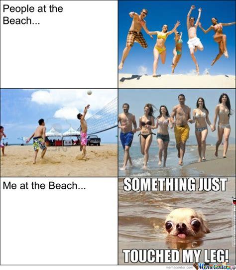 Beach Meme - at the beach by corginator98 meme center