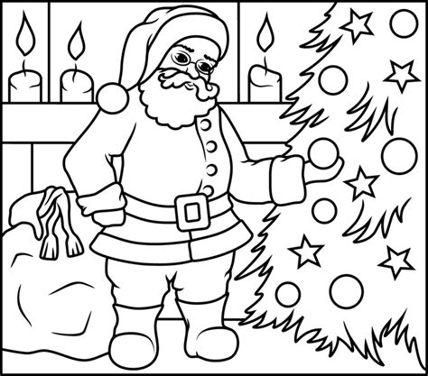 printable christmas coloring pages by number santa claus printable coloring pages coloring pages
