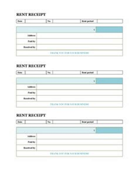 1000 images about rent receipts on pinterest workshop 1000 images about rent receipt template on pinterest