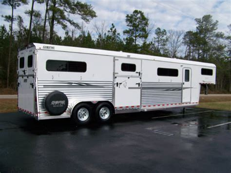 trailers four gooseneck trailer