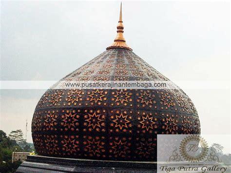 Lu Hias Kubah Masjid kubah masjid kerajinan tembaga dan kuningan