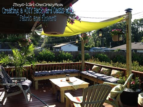 Diy Backyard Shade by Backyard Makeover Archives 2 Boys 1 One