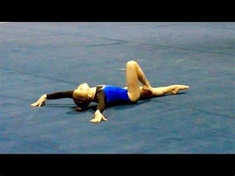 25 best ideas about gymnastics floor routine on