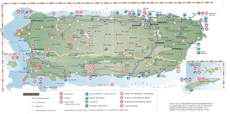 printable puerto rico road map maps update 600465 tourist map of san juan puerto rico