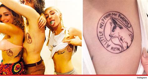 miley cyrus new tattoo 10 tattoos that would work great as temporary