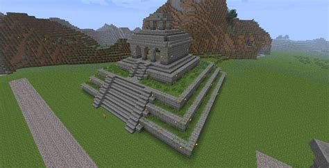 Wall Blueprints by Mayan Temple Minecraft Project