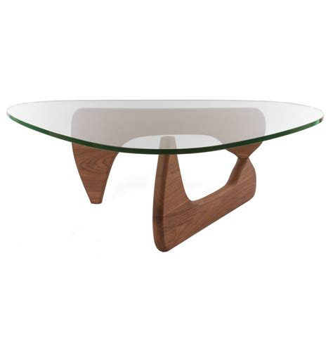tisch production center noguchi coffee table walnut zinzan classic design at