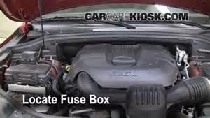 interior fuse box location 2011 2015 jeep grand