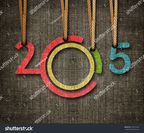 new year by the numbers happy new year 2015 numbers hunging by rope as puppeteer