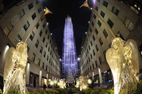 christmas trees go up in new york emirates 24 7