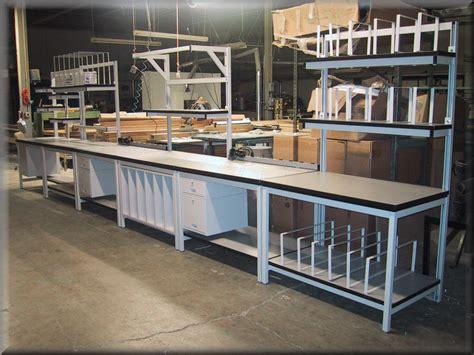 shipping bench packaging tables at rdm commercial packaging shipping tables assembly packaging