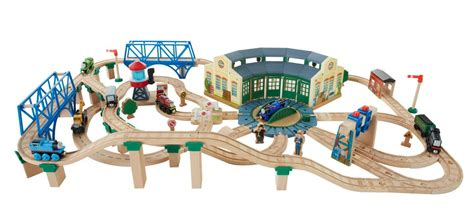 Wooden Railway Tidmouth Sheds by Fisher Price The Wooden Railway