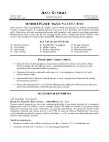 Resume Objective For Banking by Banking Resume Objective Resume Format