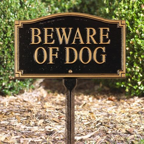 in your house beware of dog beware of dog marker