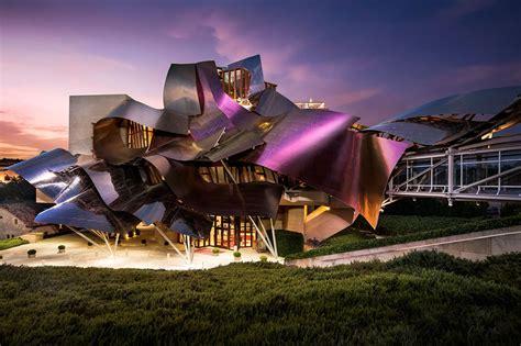 Paneling by Hotel Marqu 233 S De Riscal Luxury Hotel In La Rioja