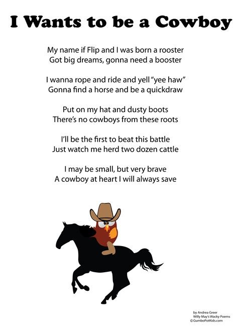 Selling Home Decor Products by Cowboy Poems