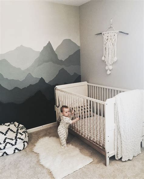 Baby Day Crib 17 Best Ideas About Mountain Nursery On