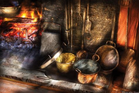 intimas suculencias utensils colonial kitchen photograph by mike savad