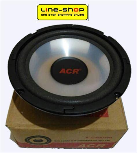 Speaker Woofer Acr Pro Harga Speaker Woofer Acr 6 Inch Acr C 630 Wh Harga Me