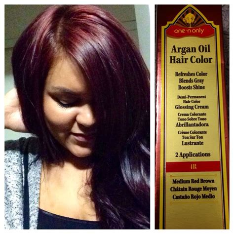 one n only argan hair color yay for fall hair color one n only argan hair