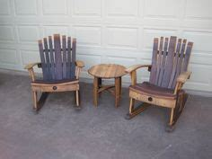 wine barrel rocking chair australia wine barrel stave rocking chair for the home
