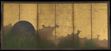 Ak105 Kalung Black Multiply Gold Leaf deleted boundaries japanese at the met