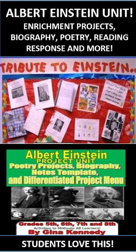 biography projects for gifted students 171 best famous people study ideas and activities images