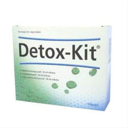 Detox Kit Heel Vartojimas by Detox Kit 3x30 Ml Udrensningskur 30 G