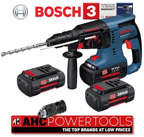 Bosch Ixo 36v Edisi Special bosch gbh 36v sds rotary hammer drill gbh 36 vf li ebay
