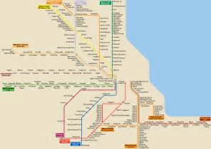 Chicago Line Map by Usa Urban And Intercity Rail The Rail Life Rail Tourist