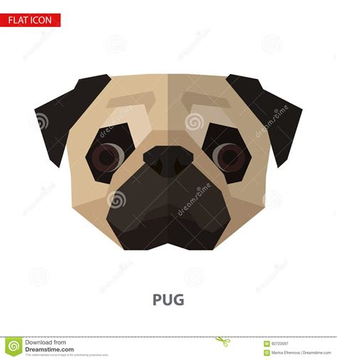 pug icon pug illustrations vector stock images 2352 pictures to from