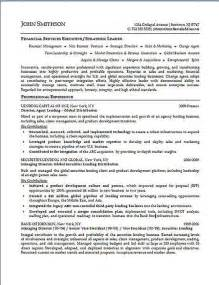Finance Executive Sle Resume by 266 Best Images About Resume Exles On