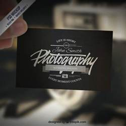 Photography Business Cards Templates For Photoshop by 10 Best Photography Business Card Templates