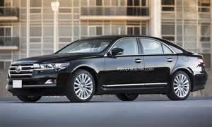 Toyota Avalon Vs Lexus Ls Toyota Crown Classic Rendered With Land Cruiser 200 Fascia