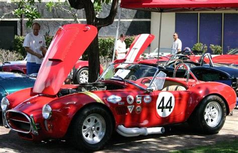 Racing Sticker Placement by Vintage Decal Placement Club Cobra