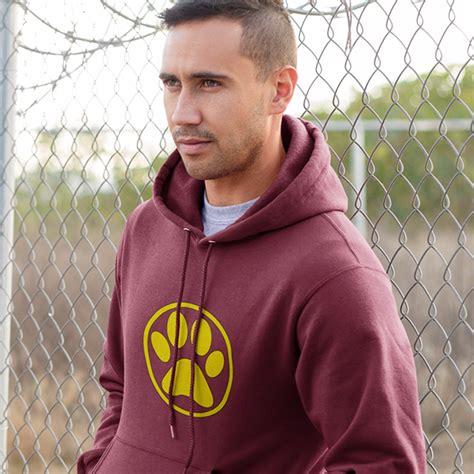 Kaostshirt Big Size Pool Boy 2xl 3xl 4xl paw print hoodie woof clothing