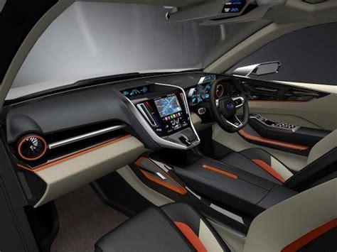 subaru viziv interior subaru viziv future concept interior unveiled