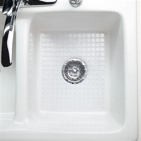 cut to size sink mat clear circo sink mat the container store