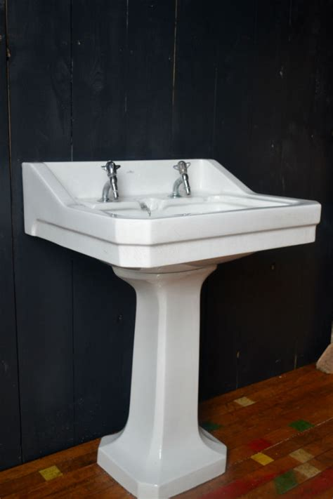 antique pedestal sink for sale 1924 vintage standard bathroom pedestal sink in
