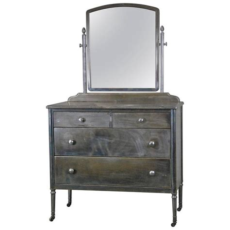 1930 industrial simmons metal dresser at 1stdibs